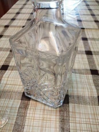 Copos e garrafa Cristal D'Arques