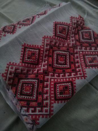 Нарядный рушнык с вышивкой