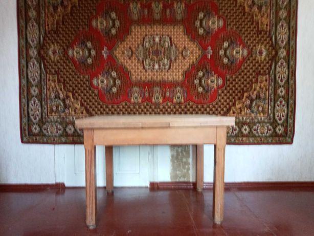 Стол  раскладной из натур. дерева можно для беседки, летней кухни
