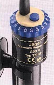 JAGER 100W нагреватель с терморегулятором для аквариумов 100 л.