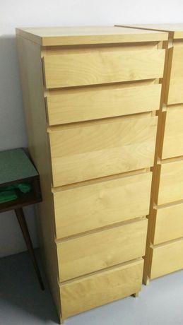 MALM cómoda IKEA, 6 gavetas com espelho. 40x123cm