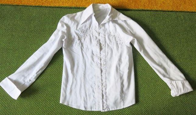 Белая школьная блузка рубашка р.146- 150 ( 10-12 лет)