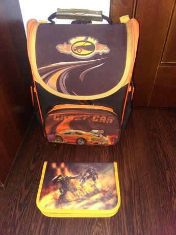 Рюкзак для младшей школы. В отличном состоянии + пенал