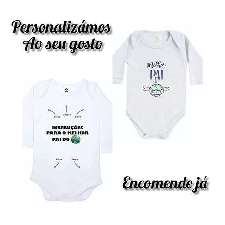 Roupa personalizada - Body bebé