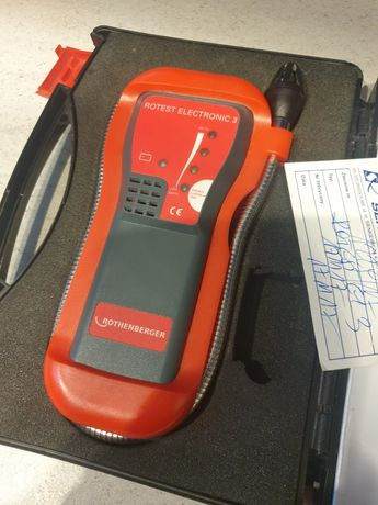 Wykrywacz detektor gazu ROTHENBERGER Rotest Electronic 3 czujnik