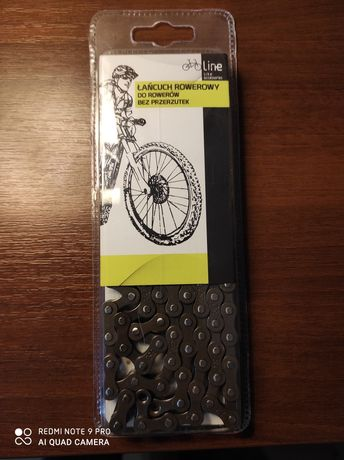 Łańcuch rowerowy bez przerzutek
