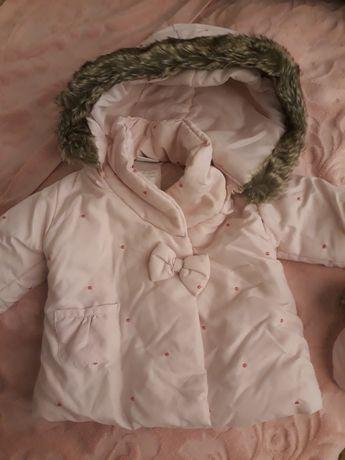 Куртка теплая, для девочки