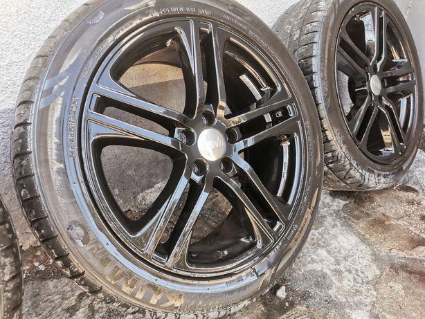 """Felgi Aluminiowe DBV Mauritius 19"""" 5x114,3 Czarne + Opony Letnie"""