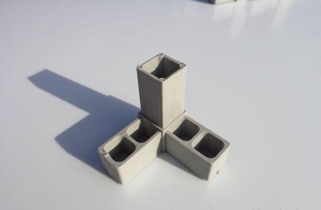 "Соединитель ""Розетка"" для алюминиевого профиля 20х20х1,5мм"