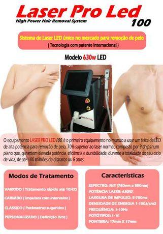 Laser diodo - Depilação - Aluguer desde 65 euros / dia
