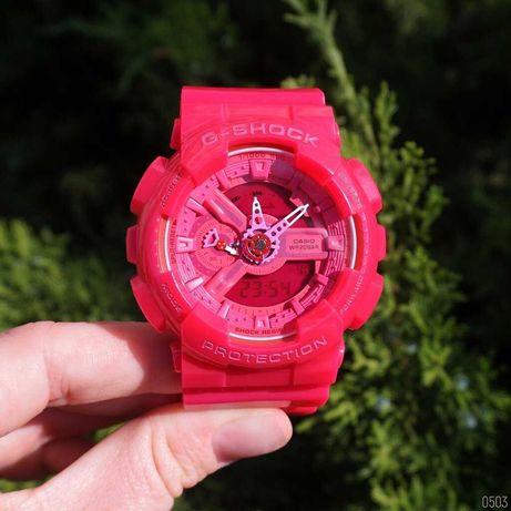ЖЕНСКИЕ розовые часы Casio G-Shock GA-110 Pink