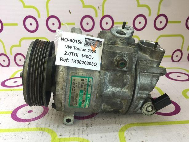 Compressor AC VW Touran 2.0TDi 140Cv de 2005 - Ref: 1K0820803Q - NO60156