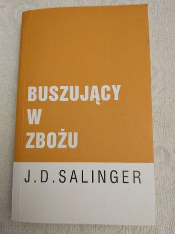 Książka Buszujący w zbożu J.D. Salinger