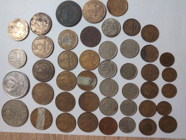 Продам монеты СССР, России,Великобритании, ГДР, Хорватии, Франции, Евр