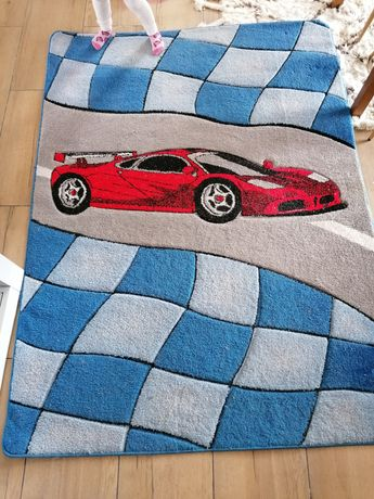 Dywan dla chłopca auto samochód