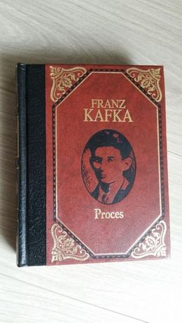 "Książka ""Proces"" Franz Kafka"