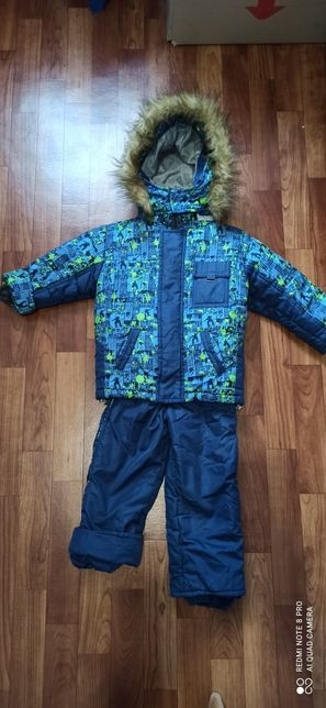 Зимний костюм комбинезон (куртка + комбинезон) на мальчика