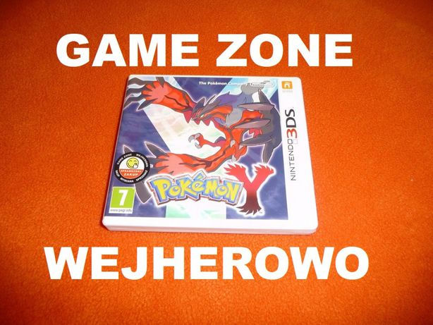 Pokemon Y Nintendo 3DS + 2DS = Wejherowo SKLEP