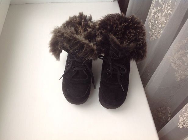 Зимние ботинки ferre италия, оригинал 31 р 20 см стелька