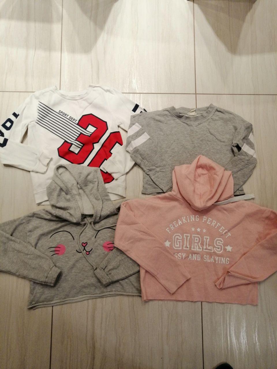 Bluzy sportowe dziewczęce