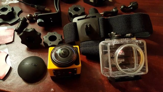 Kamera PixPro SP360 Kodak - panoramiczne wideo