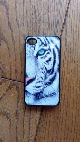Case z tygrysem na IPhone 4