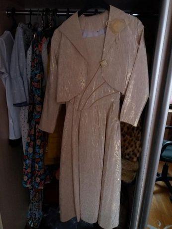 Плаття+піджак-балеро