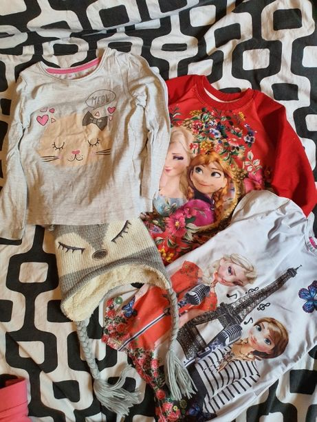 Ubrania , Ubranka Dla Dziewczynki , Dla Dziecka Duża ilość Rozmiar 110
