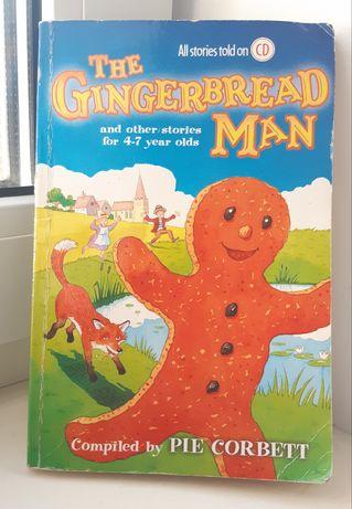 Детская книга на английском. The Gingerbread Man. Сказки. English book