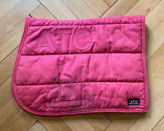 Czaprak pad Anky ATC Hot Pink różowy skokowy
