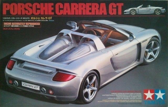Porshe Carrera GT Tamiya Modelismo Novo