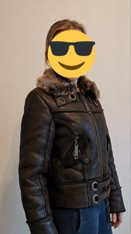 Brązowa kurtka M