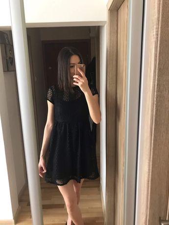 koronkowa sukienka Zara r. S