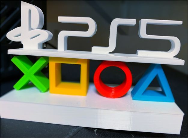 Украшение сувенир красиво положить рядом иконки PlayStation PS5