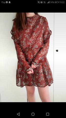 Sukienka z długim rękawem rozmiar M