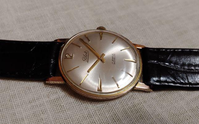"""Швейцарские часы """"Pilot"""" Swiss в позолоте 20 mikron выпуск времён ссср"""