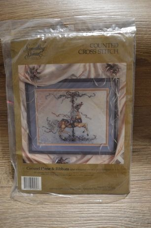 Набор для вышивания Something Special Carousel Horse & Ribbons 50569