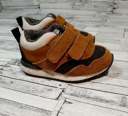 Zara Baby натуральные стильные кроссовки кеды хайтопы