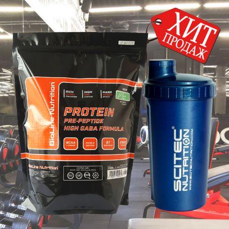 Работаем на мышечную массу! Сывороточный протеин Германия 2 кг+шейкер