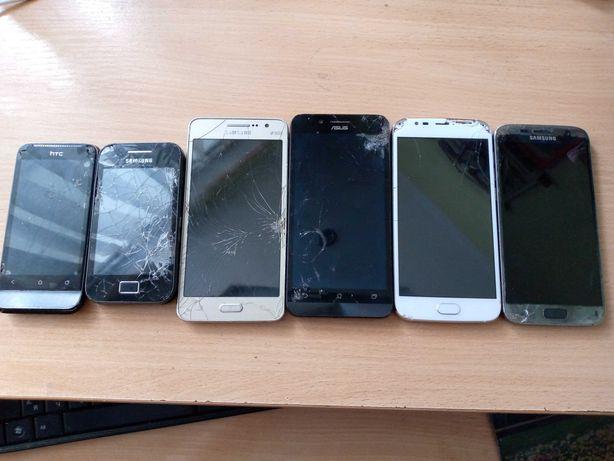 Телефоны на зап. Samsung S7, SM-G531H, 5830i, Asus ZC500TG, Doogee X9