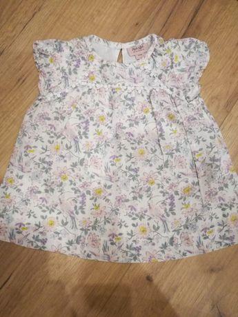 Piękna sukienka niemowlęca 62
