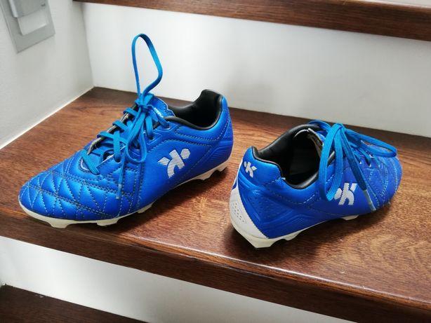 Korki kipsta r.32, piłkarskie, niebieskie, super stan polecam adidas
