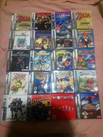 Castlevania Zelda Metroid игры game boy color/advance gba gbc gameboy