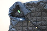 Płaszczyk pikowany kurtka UNITED COLORS OF BENETTON r.M 7/8 lat 130cm