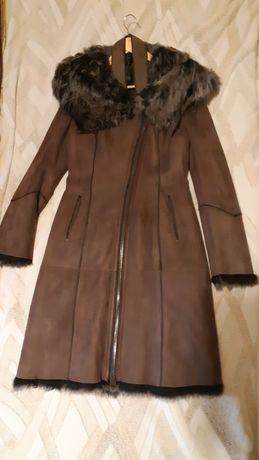 Дубленое пальто, лама