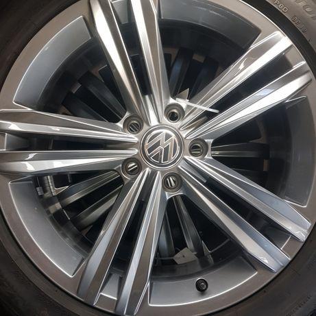 Felgi Oryg.VW 18 z opon.letnimi