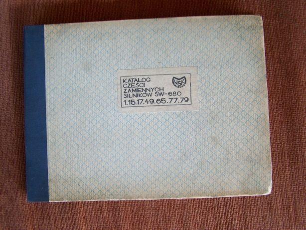katalog silnika SW680 WSK oryginał nowy PL