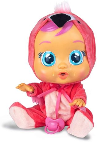 Кукла Плакса Фламинго Cry Babies Fancy The Flamingo Doll, Pink