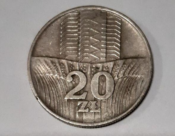 20 złotych, Wieżowiec I Kłosy 1973 rok