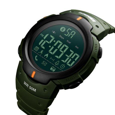 SKMEI Sportowy Zegarek Męski Bluetooth NOWY PROCESOR IC